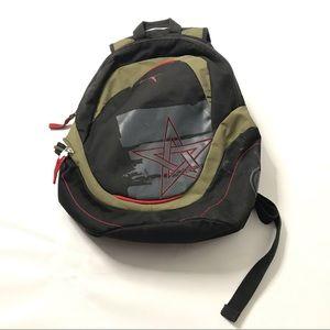 Puma Backpack Black Green